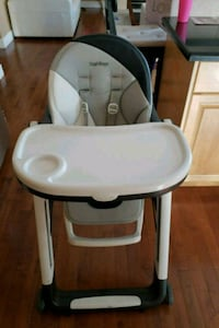 baby's white and gray high chair Peg-perego Calgary, T3H 5P8