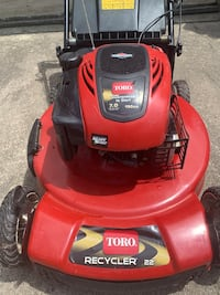 Toro lawnmower 7.0 hp 190cc