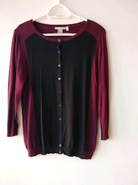 women's red and black long sleeve shirt Toronto, M4Y