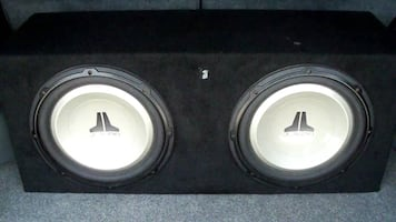 JL audio Subs(sound clean)