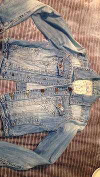Jean jacket one size. In good condition. Bought in Europe Cranston, 02921
