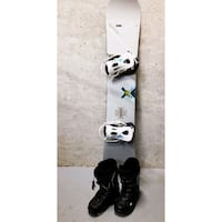 BURTON SNOWBOARD with Boots And Bindings (size 10) Coquitlam, V3B