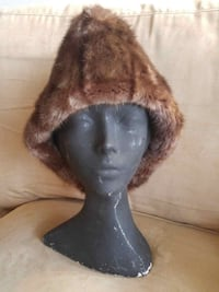 CUSTOM Super-Warm Mens Real Fur Hat Cossack Trapper Beaver Brown Winter Shearling XS S M L XS ALL SIZES AVAILABLE 520 km