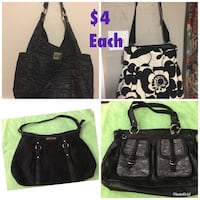 women's four assorted bags 1285 mi