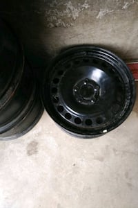 17 inch black steel rims with sensors  Edmonton