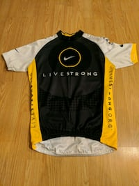NIKE LIVESTRONG CYCLING JERSEY - MEN'S - MEDIUM Vancouver, V5M 2E9