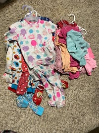 Summer girl clothes 24M/2T