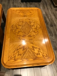 Solid wood coffee table & end table for sale Oshawa