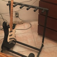 Guitar stand that hold five guitars in one , so nice to be able to see your Arsenal Deerfield Beach, 33441
