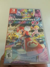 Sealed Nintendo Switch Mariokart Deluxe game case London, N6G
