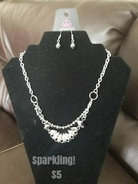 silver-colored necklace with earrings Rocky Mount, 27801