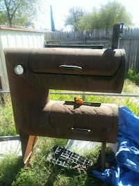 black and gray gas grill Midland
