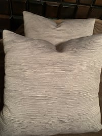 Two brand new beautiful gray pillows Calgary, T1Y 1X7
