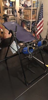 Like New Teeter Hang-Ups Inversion Table With Gravity Boots.
