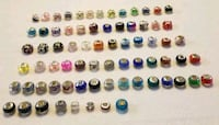 Silver Charms Big Colorful Beads $5 each Homestead, 33033