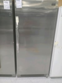 Stainless upright freezer. Dearborn, 48126