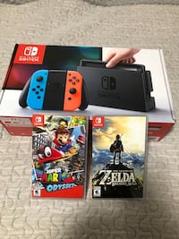 Nintendo switch box with game cases Spruce Grove, T7X 0C4