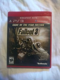 Fallout 3 Game of the Year Edition used Hyde Park, 12538