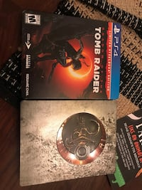 Shadow of Tomb raider: steel book edition Centreville, 20120