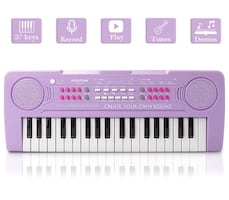 Kids Piano, 37Keys Multi-Function Electronic Keyboard Piano Play Piano