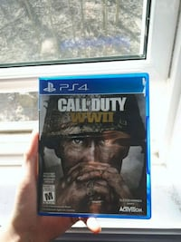 PS4 Call of Duty Advanced Warfare game case