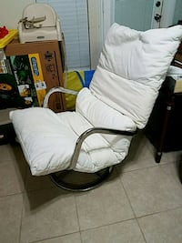 white and black metal chair Conroe, 77303