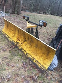 yellow steel plow blade 359 mi