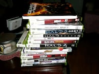 assorted Xbox 360 game cases Acton, L7J 1Z5