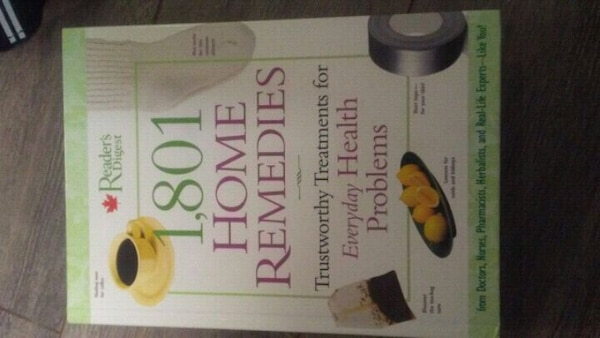 Book for home remedies