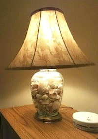 brown and white table lamp Forest, 24551