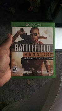 Xbox One Battlefield Hardline game case Baltimore, 21216