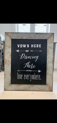 Rustic Wedding Sign Rental- Msg for more details Toronto, M8W 3Y8