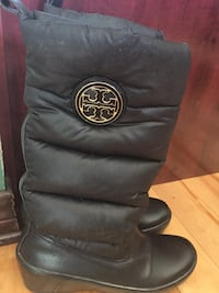 Tory burch black boots, size 5 Laval, H7V 3X6