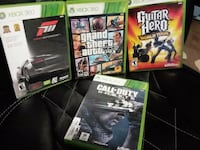 4 Xbox 360 Games. Great condition.  $5 Elkhart, 46516