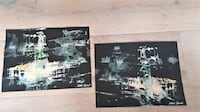 $7 each-2 Original Abstract Expressionist Artworks-Certain Sins-  District of Columbia