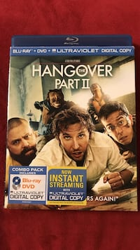 The Hangover Part 2 Blu-ray and DVD Combo Pack