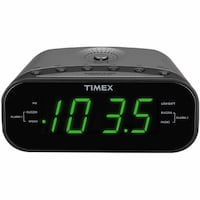 Timex T231G AM/FM Dual Alarm Clock Radio with Digital Tuning Mississauga