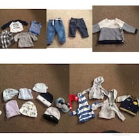 Newborn package for a baby boy