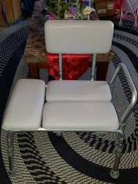gray and white transfer bench Quinlan, 75474