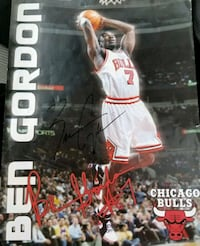 Autographed picture of Ben Gordon Mahopac, 10541
