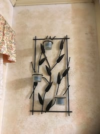 Partylite leaf wall sconce / candle holders (set) Toronto, M1P 2T7