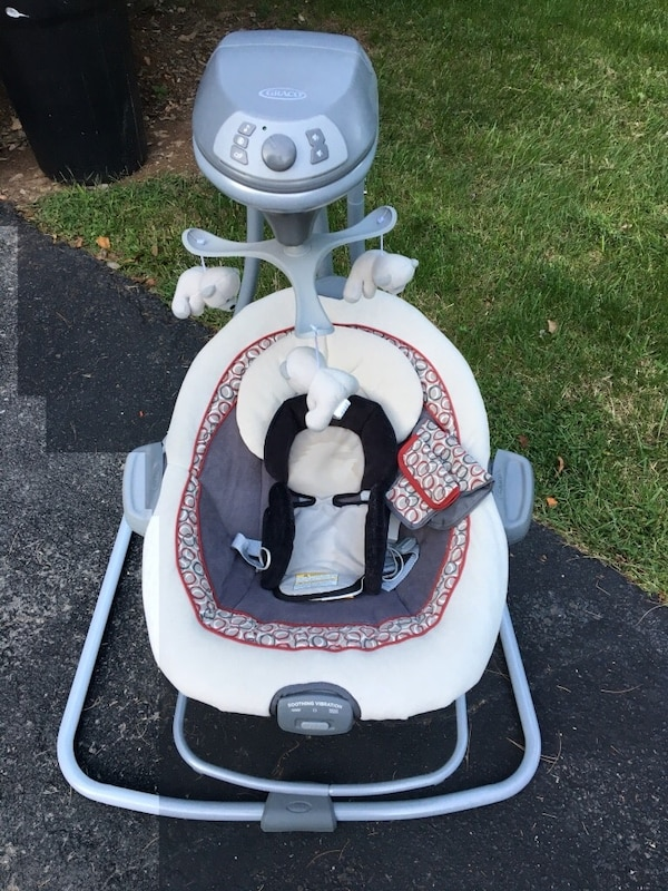Barely used Graco cradle and swing