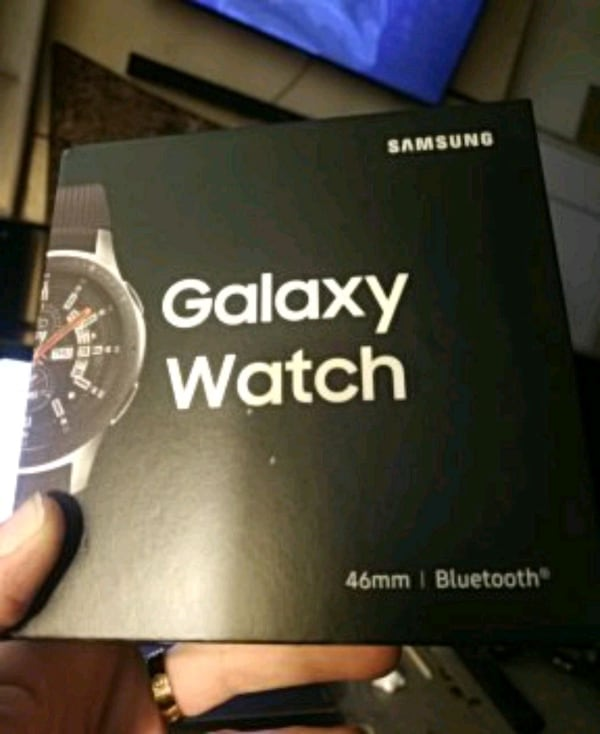 Brand new Galaxy Watch 46mm Sealed BNIB 23985b7e-4f19-4b22-8e1b-939916e09c40