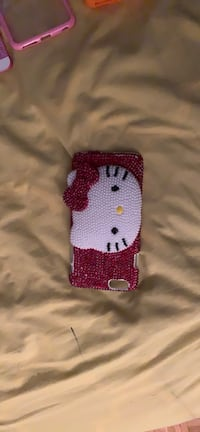 Red and white hello kitty with mirror iPhone 6 Plus case