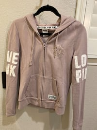 Taupe sweatshirt by PINK