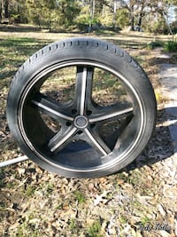 20 in rims and tires Ragley, 70657