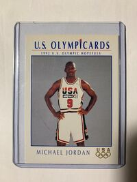 1992 USAB Michael Jordan Basketball Card