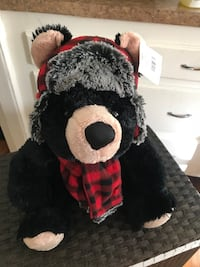 black bear plush toy