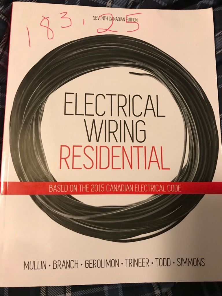 used electrical wiring residential textbook paid 183 25 looking for rh ca letgo com DIY Electrical Wiring Residential Residential Electrical Panel Wiring