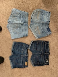 $10 per or 4 for $30. American Eagle 00, Hollister size 0, Aeropostale 00 and A&F kids 12 Oley, 19547